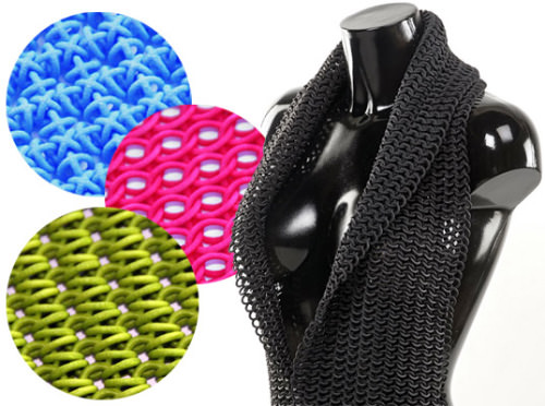 3D-Printed Fabrics