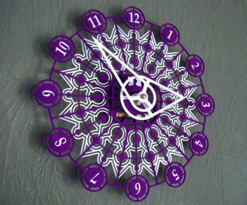 Kaleidoscope Clock
