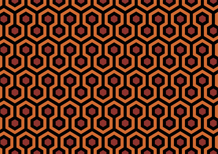 "Carpet Pattern From ""The Shining"""