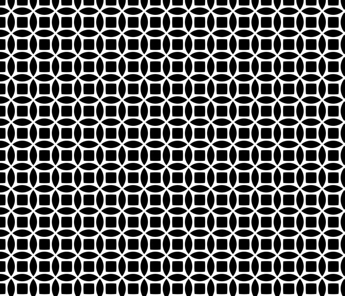 Seamless, Circular, Geometric Background Pattern
