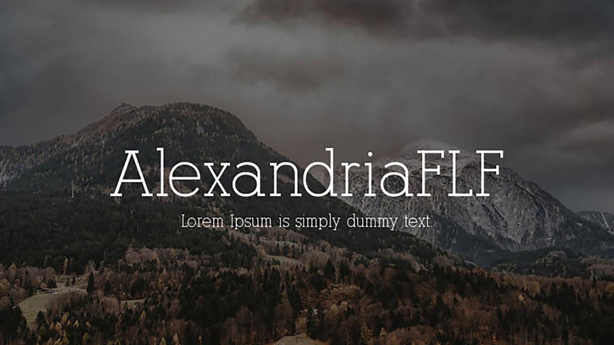 Alexandria-FLF-Font