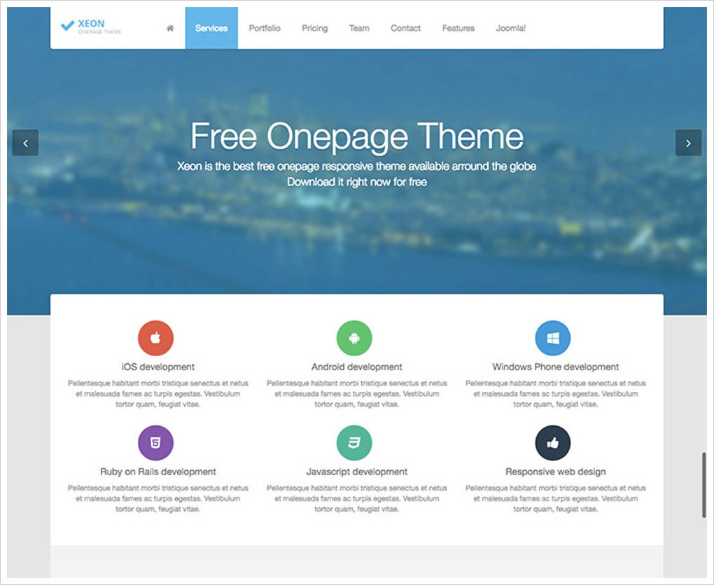 30 Free Beautiful Joomla Templates To Download Hongkiat