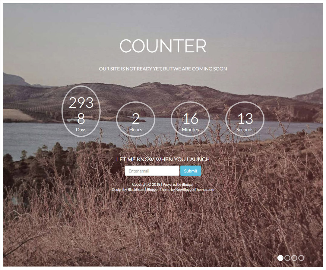 Counter-Blogger-Template