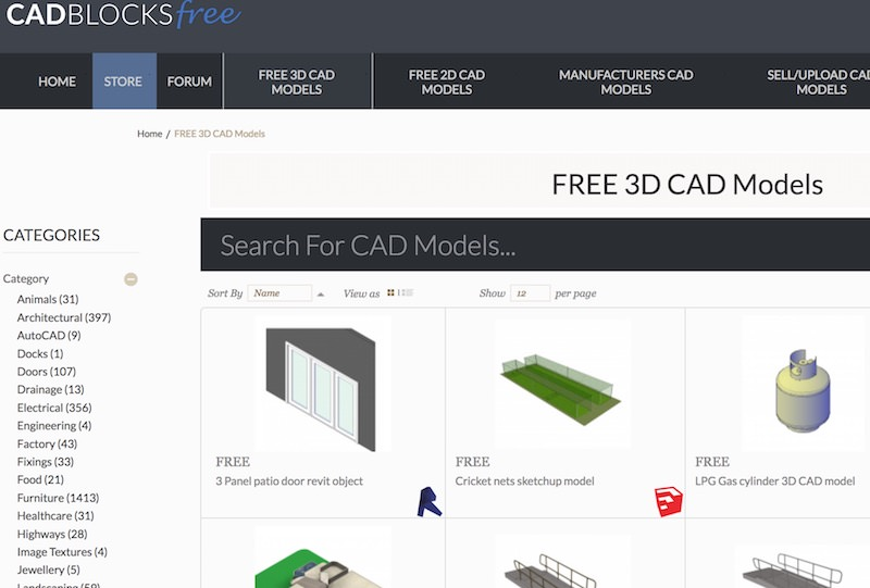cadblocksfree