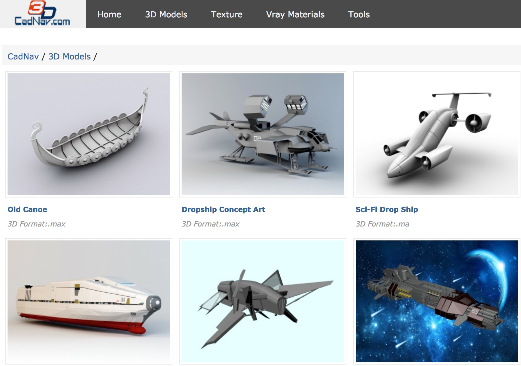 50 Sites to Download Free 3D Models – Best Of