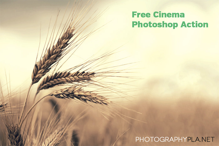 Free Cinema Photoshop Action