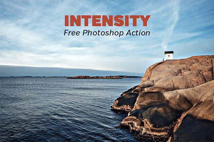 Free Intensity Photoshop Action