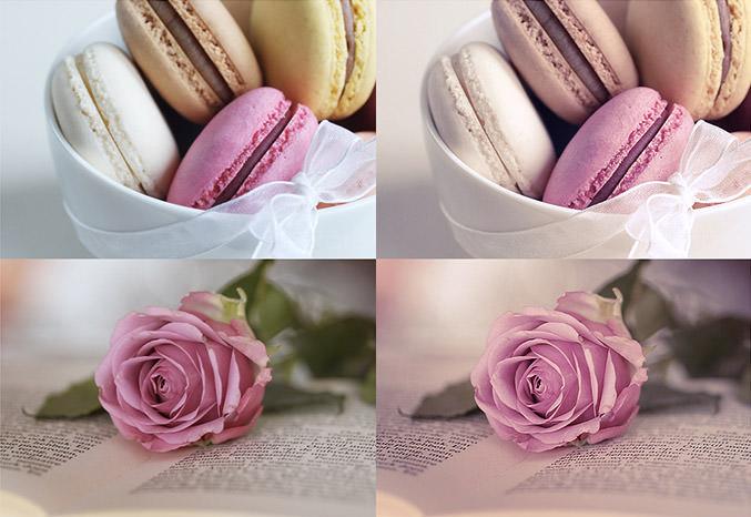 Photoshop Soft pastel Actions