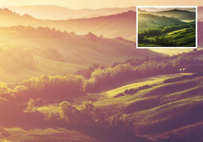 Sunken Sunlight Photoshop Action