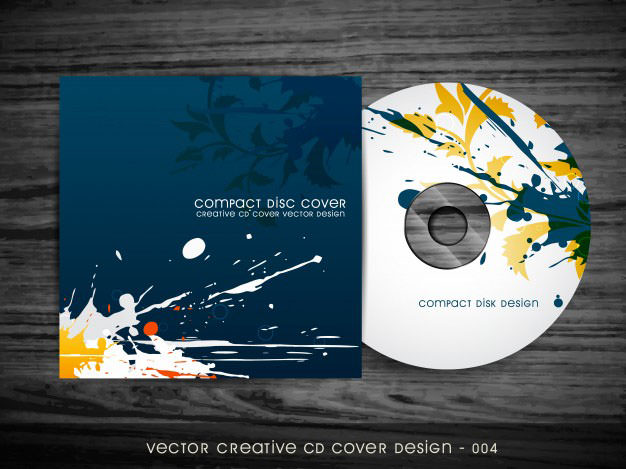 cd dvd templates