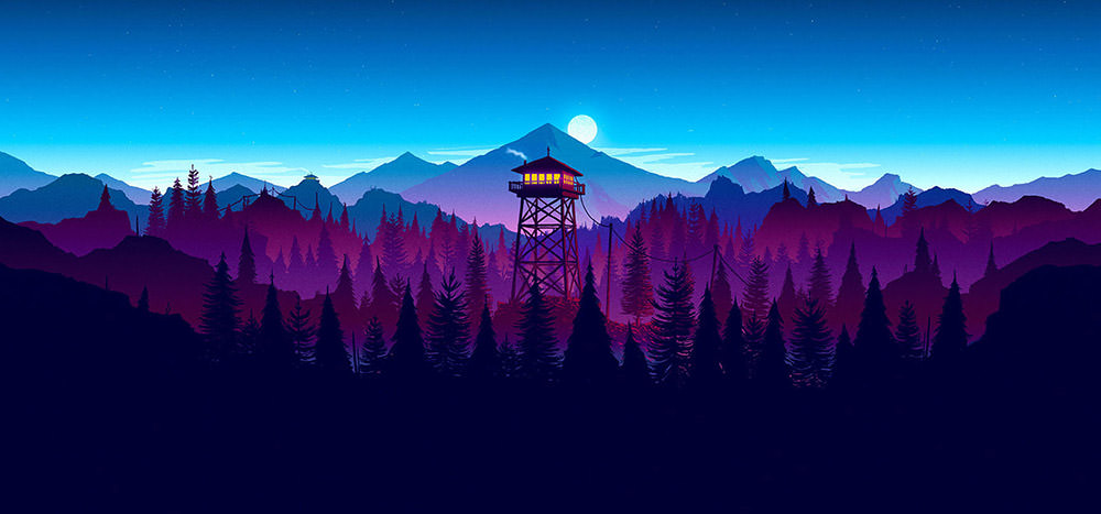 Sunset-Themed