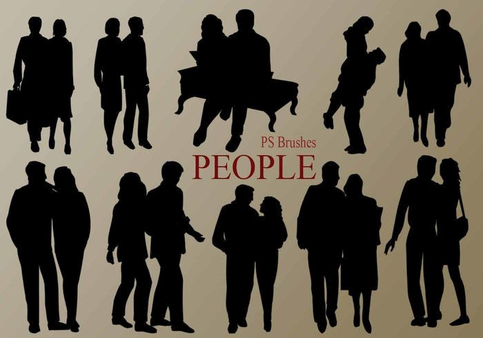 people-silhouette-ps-brushes
