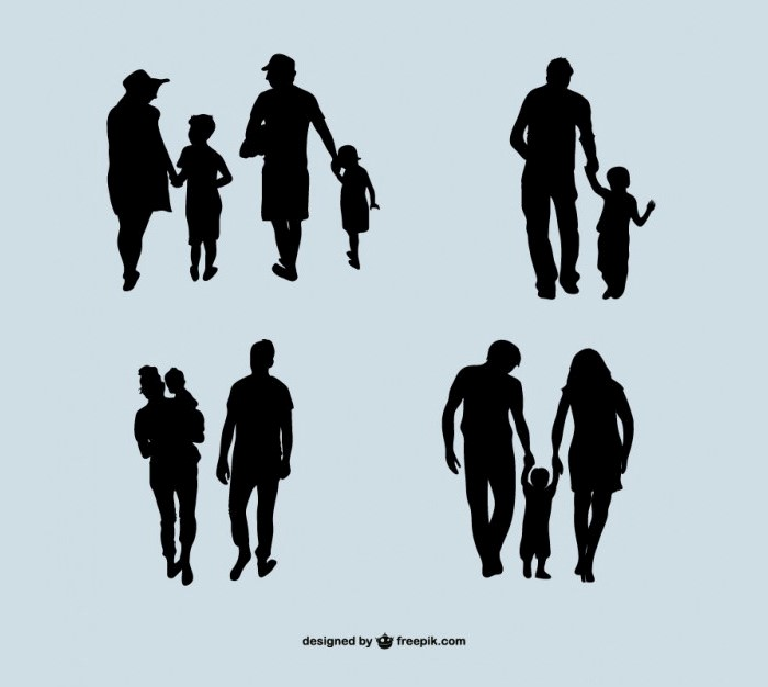 family-silhouette-collection