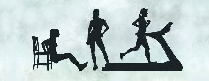 female-fitness-silhouettes-set