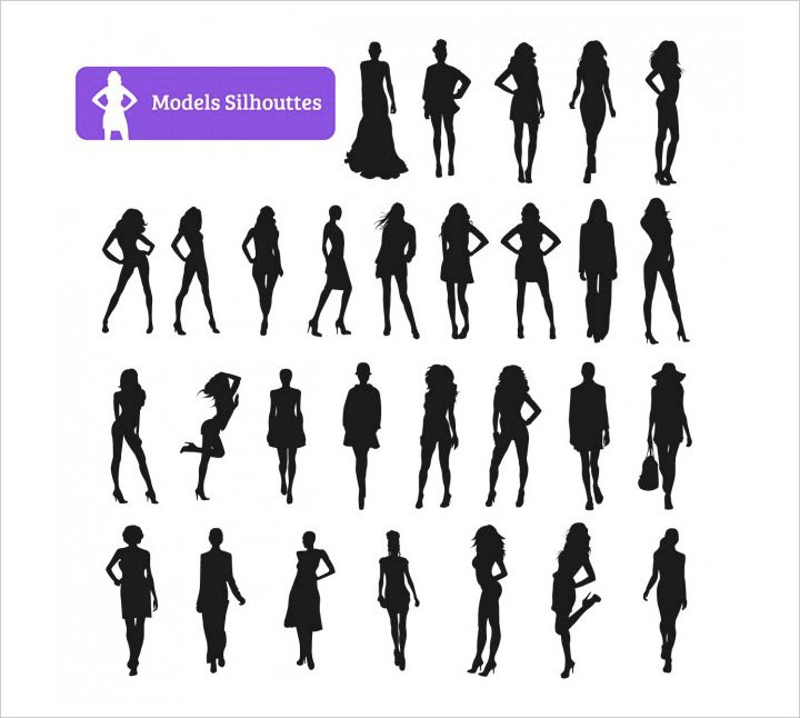 model-silhouette-collection