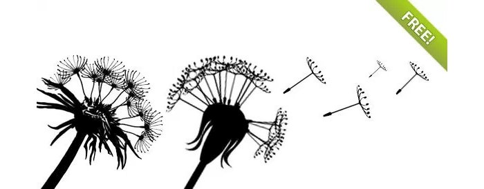 dandelion-silhouettes