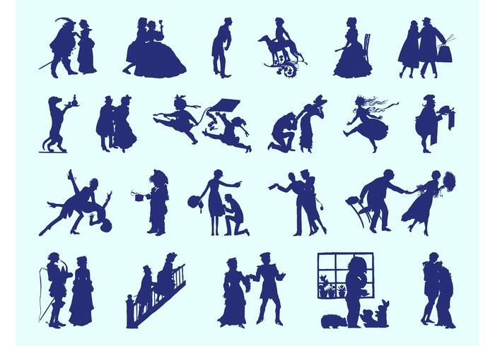 retro-people-silhouettes