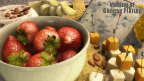 making_of_cheese_platter