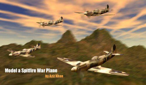 model_a_spitfire_war_plane