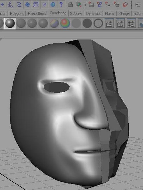 modeling a face
