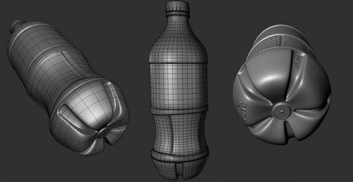 modeling_coke_bottle