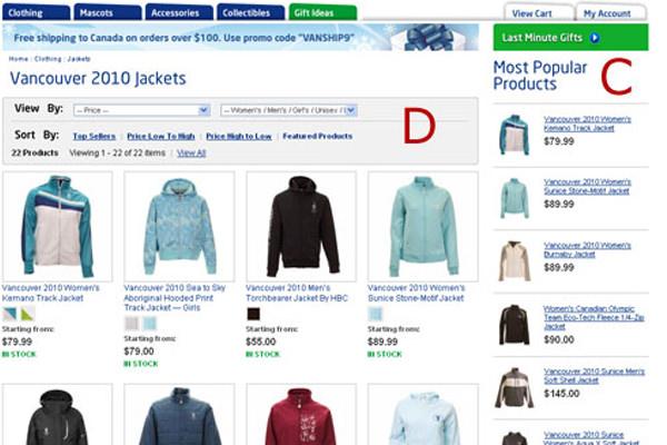 olypics testing split a/b ideas ecommerce thumbnails