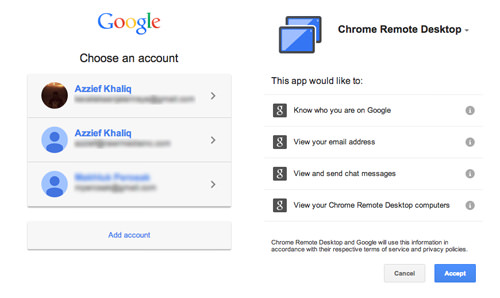 Account And Permissions