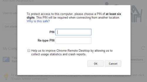 Enter PIN On PC