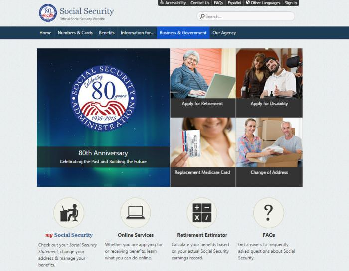 U.S. Government Social Security Administration