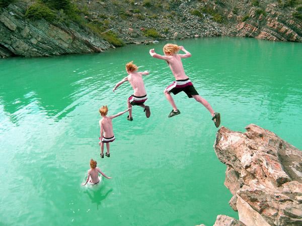greggin jumping