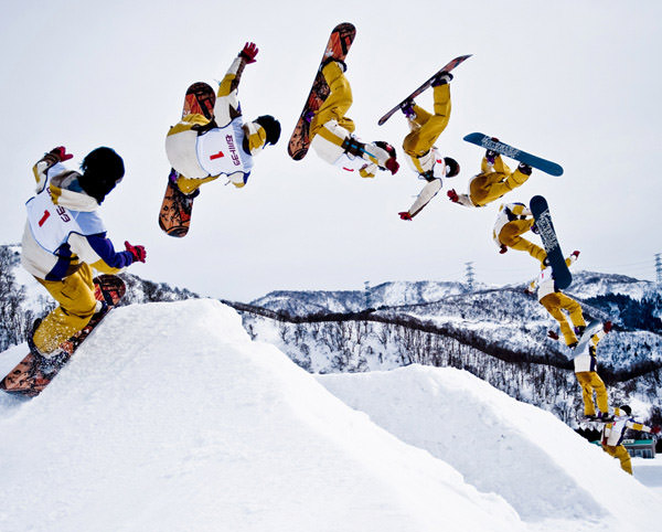 Snowboard - Sequence Photography