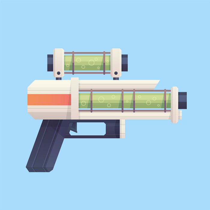 sci-fi-blaster