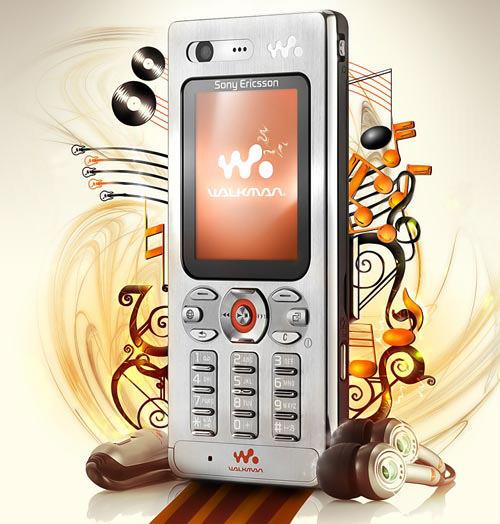 Sony Ericsson W880i-product-ad