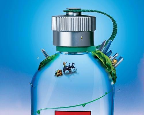 Hugo Boss's Skyline-product-ad