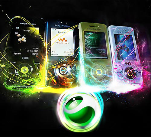 Sony Ericsson S500i-product-ad