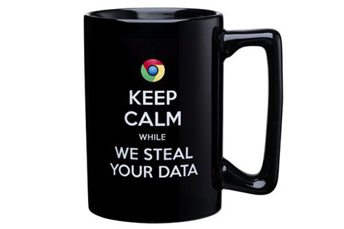 microsoft mug attack on google