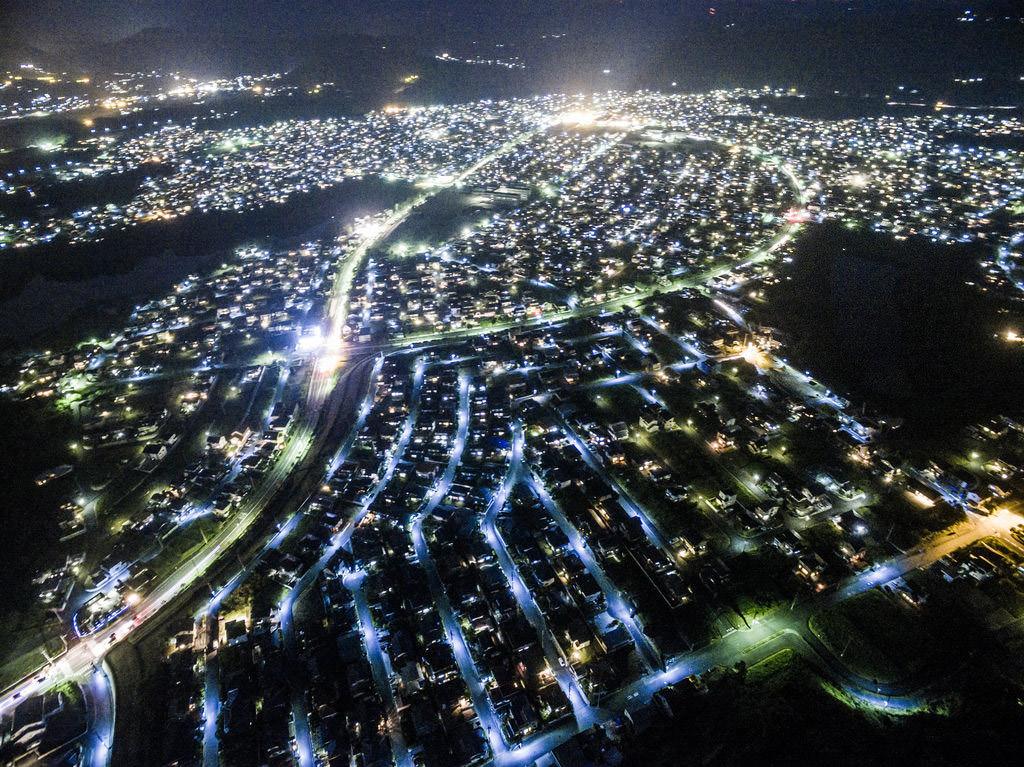 23 Aikawashi At Night Okayama Japan