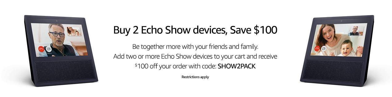 echo show promotion