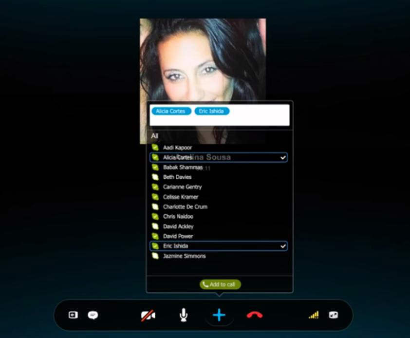 Skype avails group calling