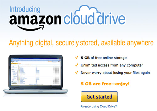 Register Cloud Drive