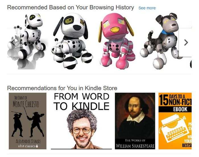 Amazon Recommendations