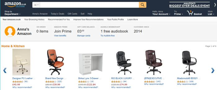 Private Recommendations on Amazon