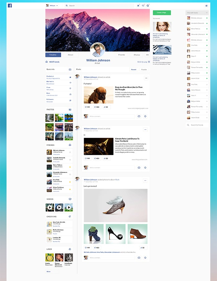 haris jusovic facebook redesign