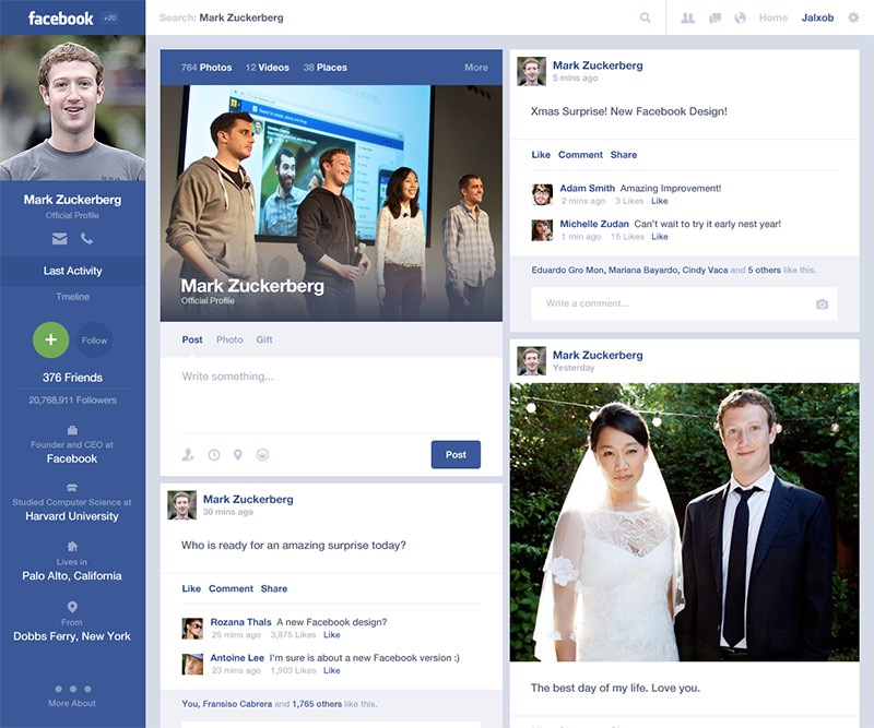 alejandro osorio facebook redesign