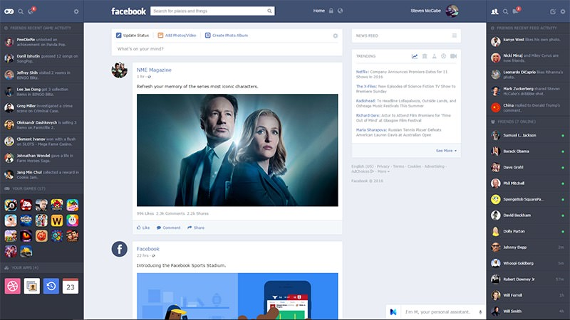 steven mccabe facebook redesign