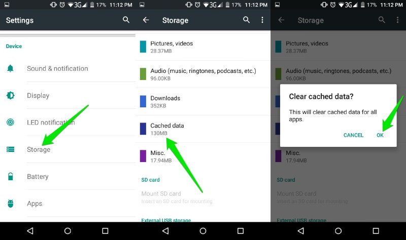 How To Manage Android App Data Cache Hongkiat