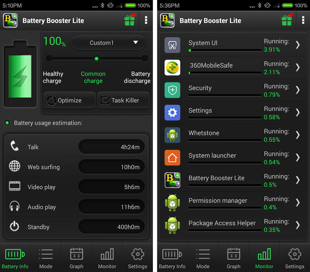 Battery Booster Lite