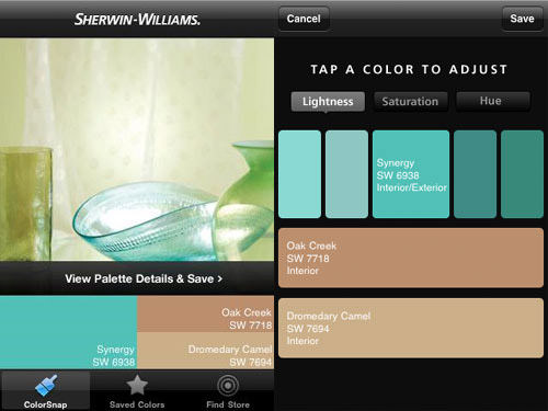 ColorSnap Android Apps for Designers