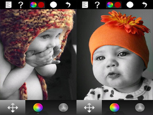 Color Effect Lite Android Apps for Designers