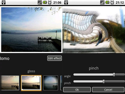 Photo Effects Android Apps for Designers
